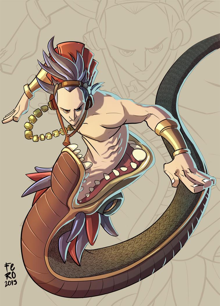 KuKulkan Mayan God 1 by Fpeniche