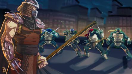 Shredder vs TMNT