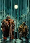 Ben Grimm and Raphael