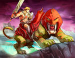 He-man Masters of the universe color