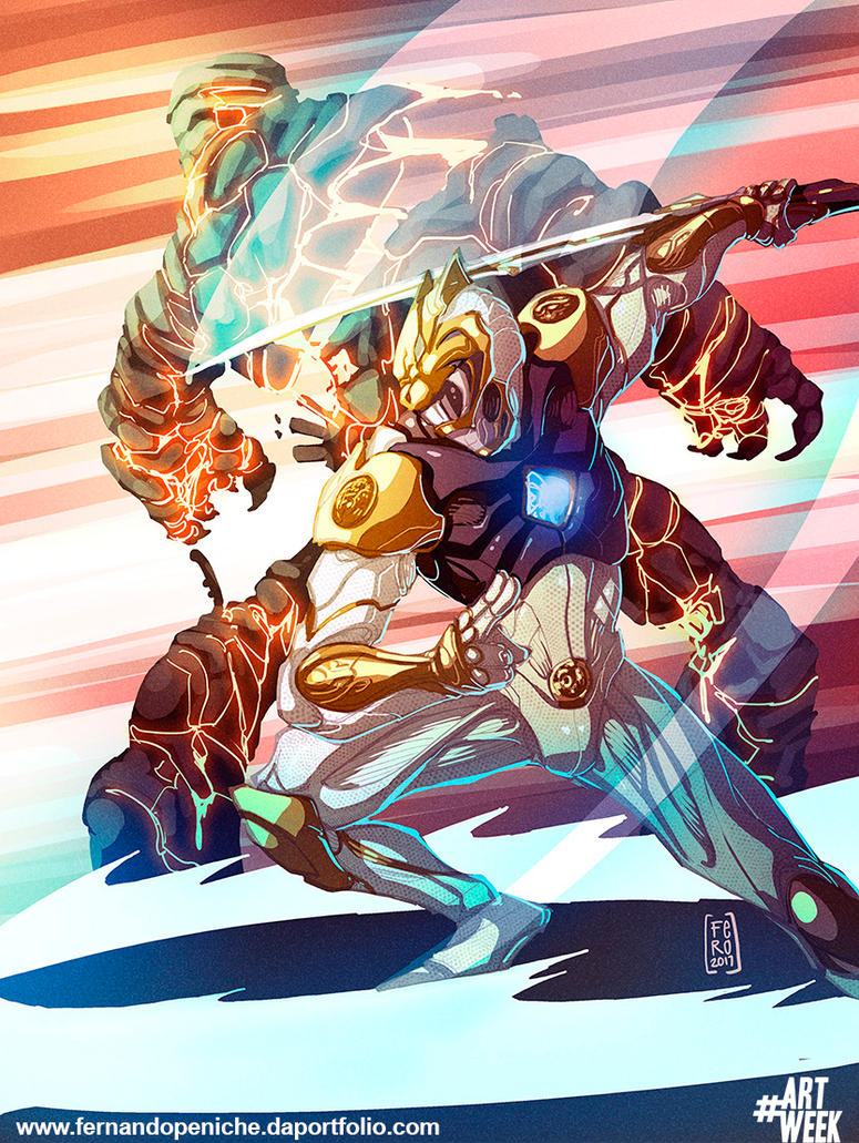 White Ranger Movie design by Fpeniche