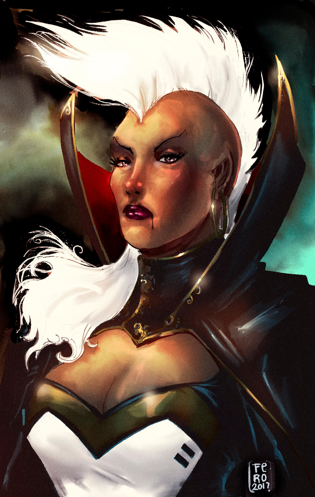 Storm queen of darkness by Fpeniche