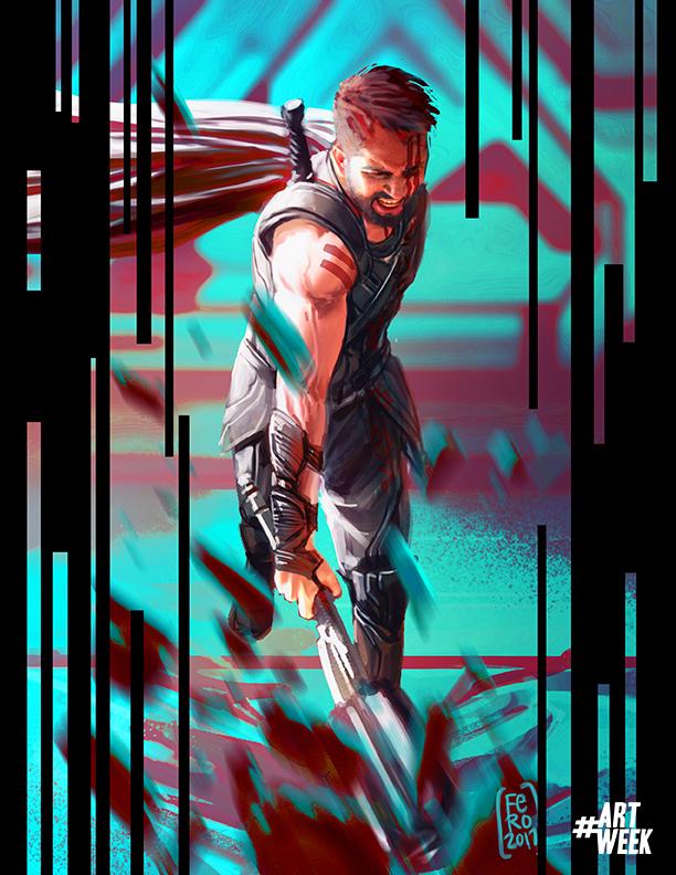 Thor Ragnarok by Fpeniche