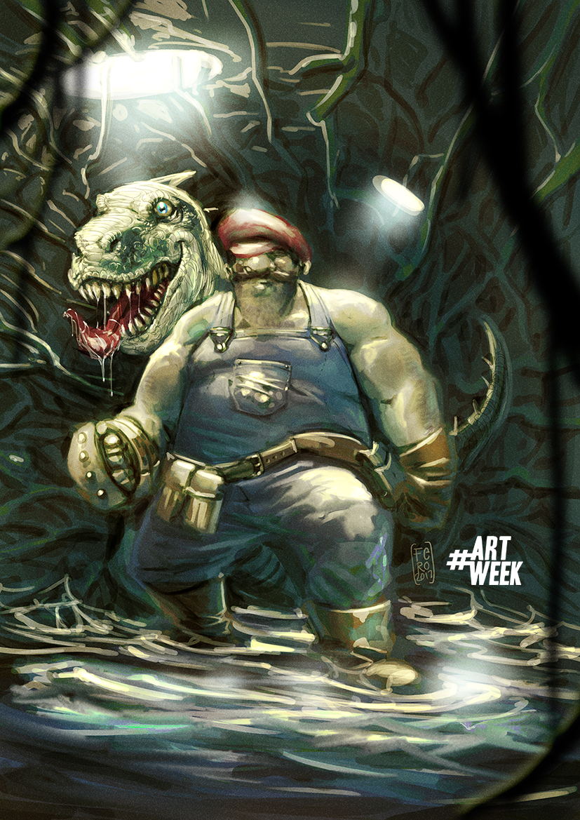 Real Mario Bros by Fpeniche