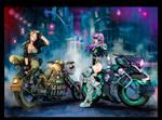 Steampunk  Cyberpunk