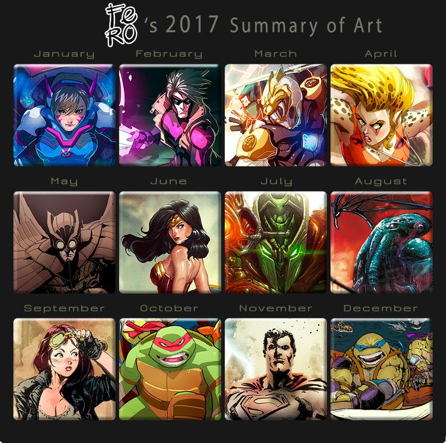 2017 Summary art by Fpeniche
