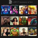 2017 Summary art