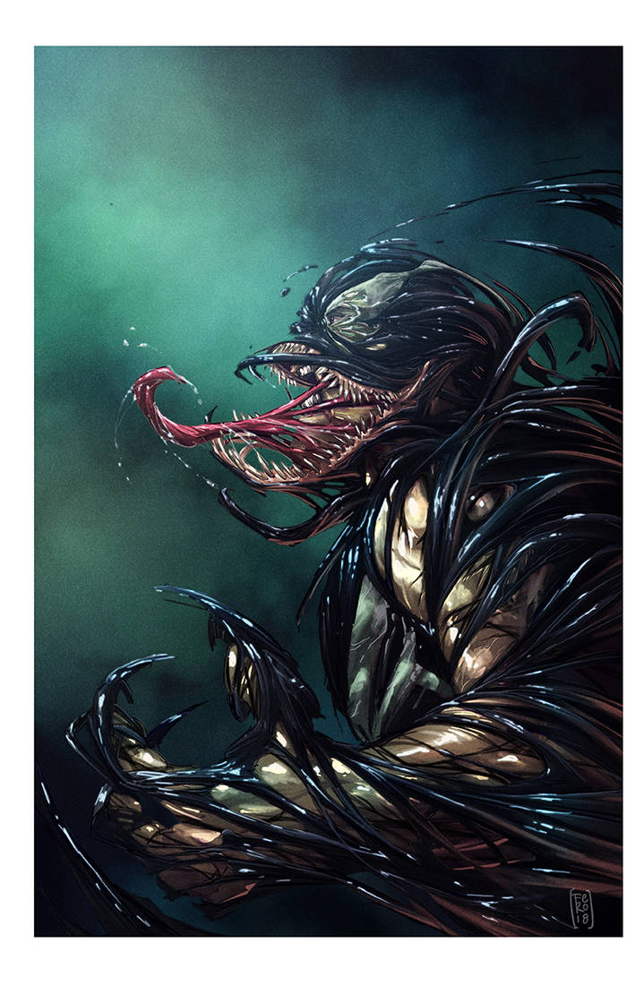Venom simbiote by Fpeniche