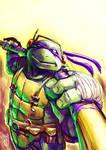 Donatello paint sketch