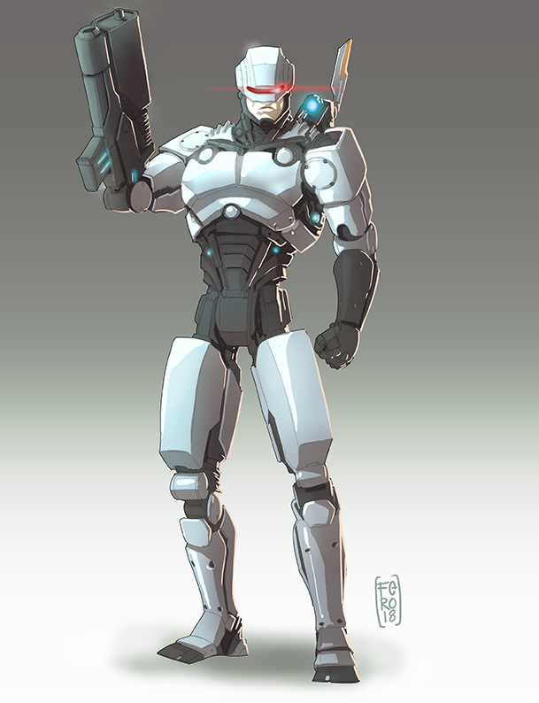 Robocop Redesign by Fpeniche