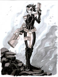 Domino Commission by Fpeniche