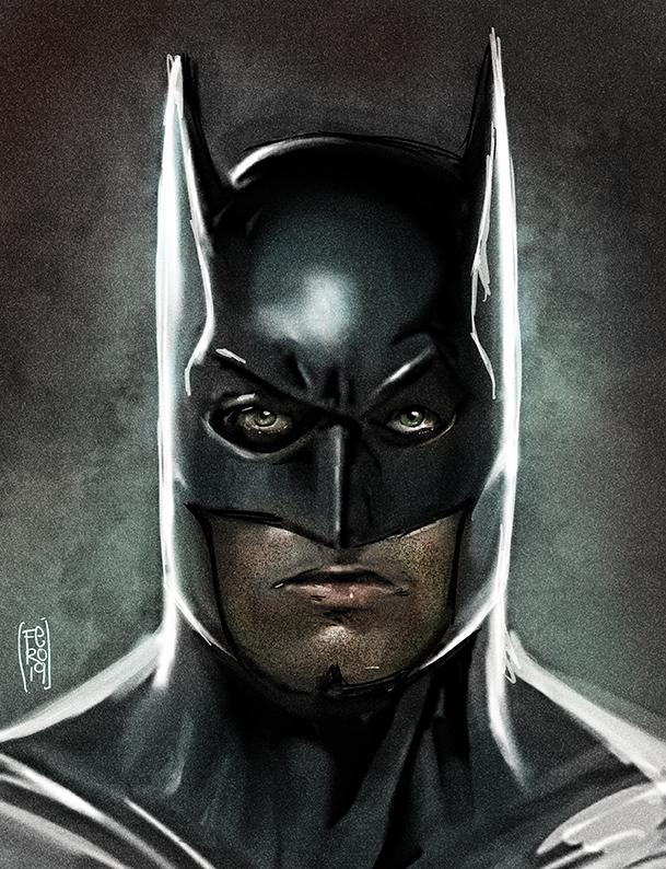 Batman Batffleck by Fpeniche
