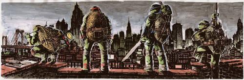 Ninja Turtles in the City