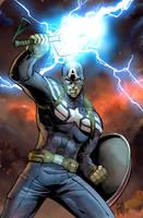Captain America Endgame by Fpeniche