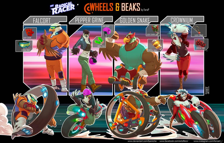Wheels and Beaks team