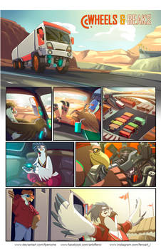 Wheels and  Beaks Page1