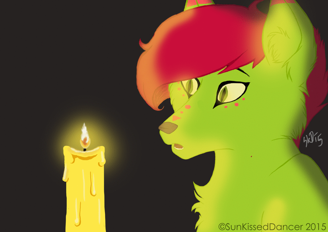 What is a fire anyway? (Glow Animation) by SunKissedDancer