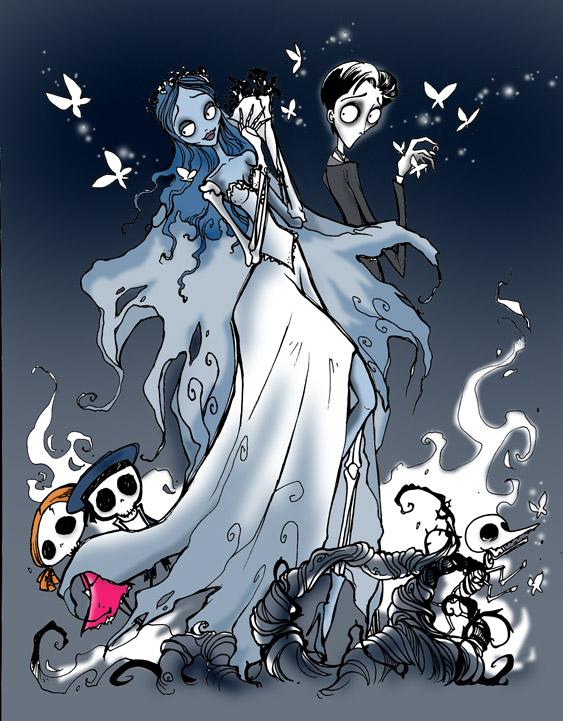 Corpse Bride Tribute by favius