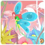 KATY LA ORUGA as a Butterfly
