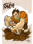 Wreck it Ralph Fanart