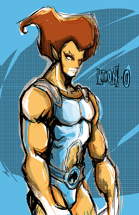 Lion-o by favius