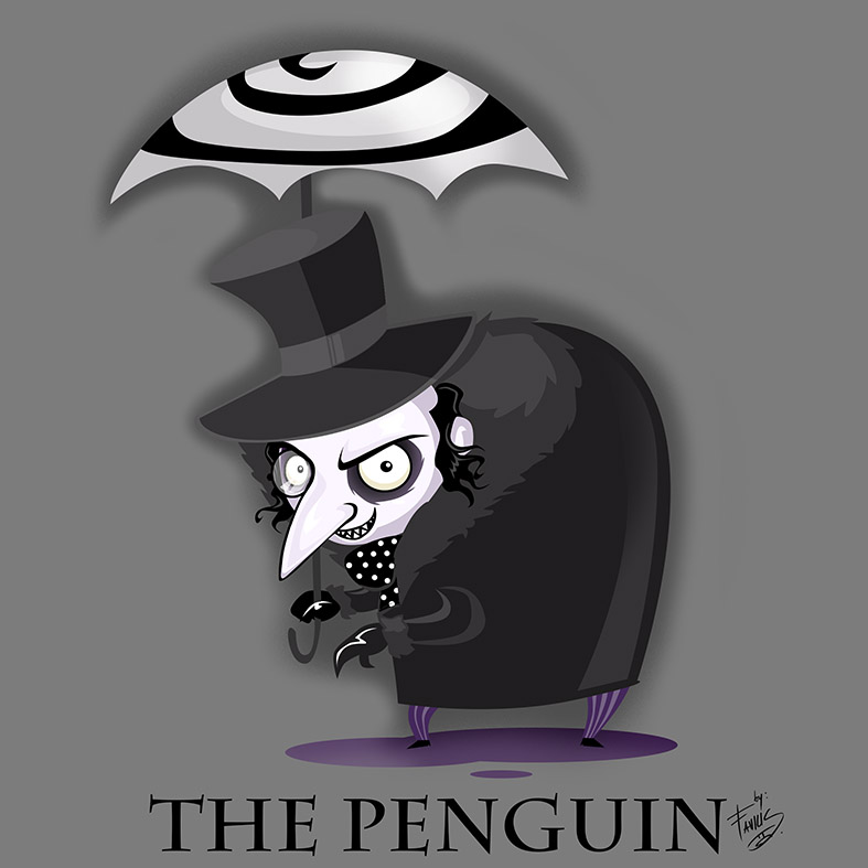 the penguin (chibi) by favius
