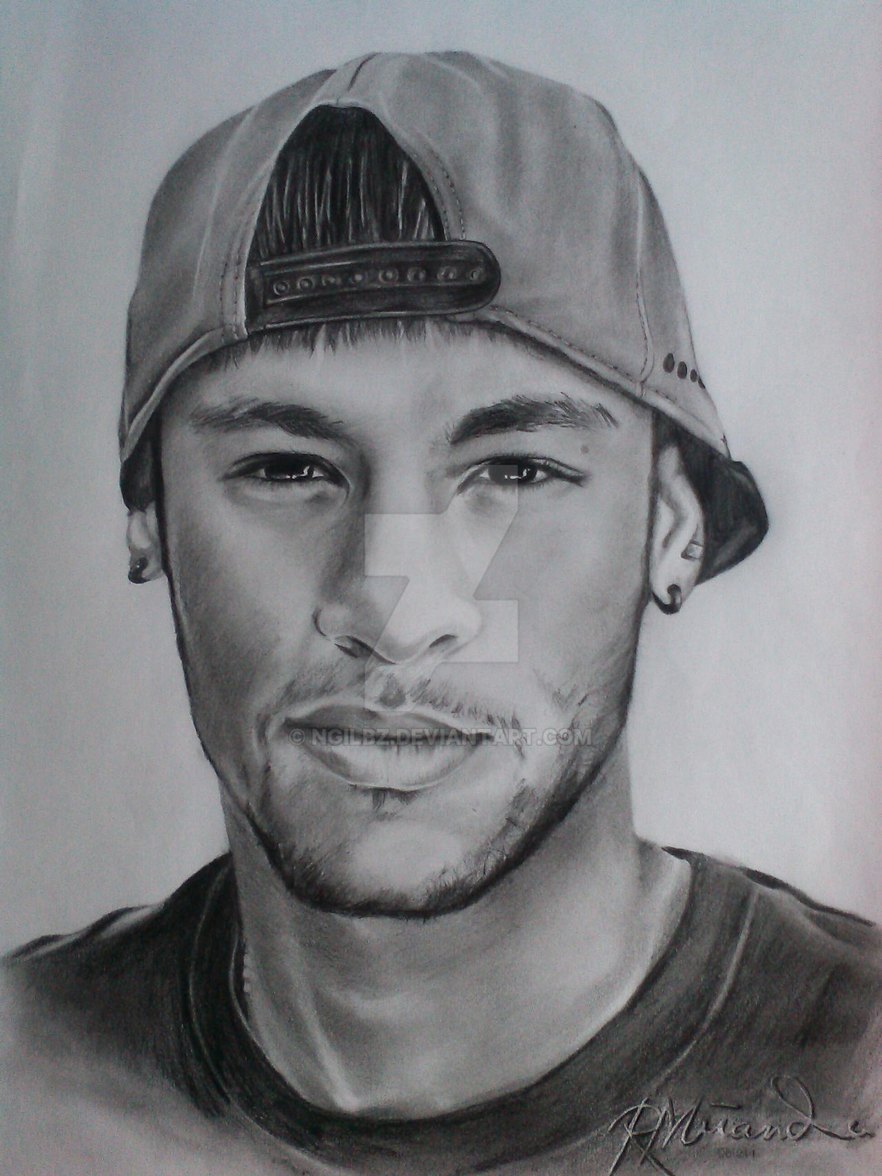 how to draw neymar 2017