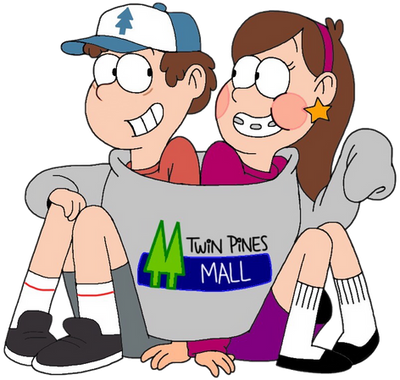 Dipper and Mabel Pines (Redone) by Luxojr888