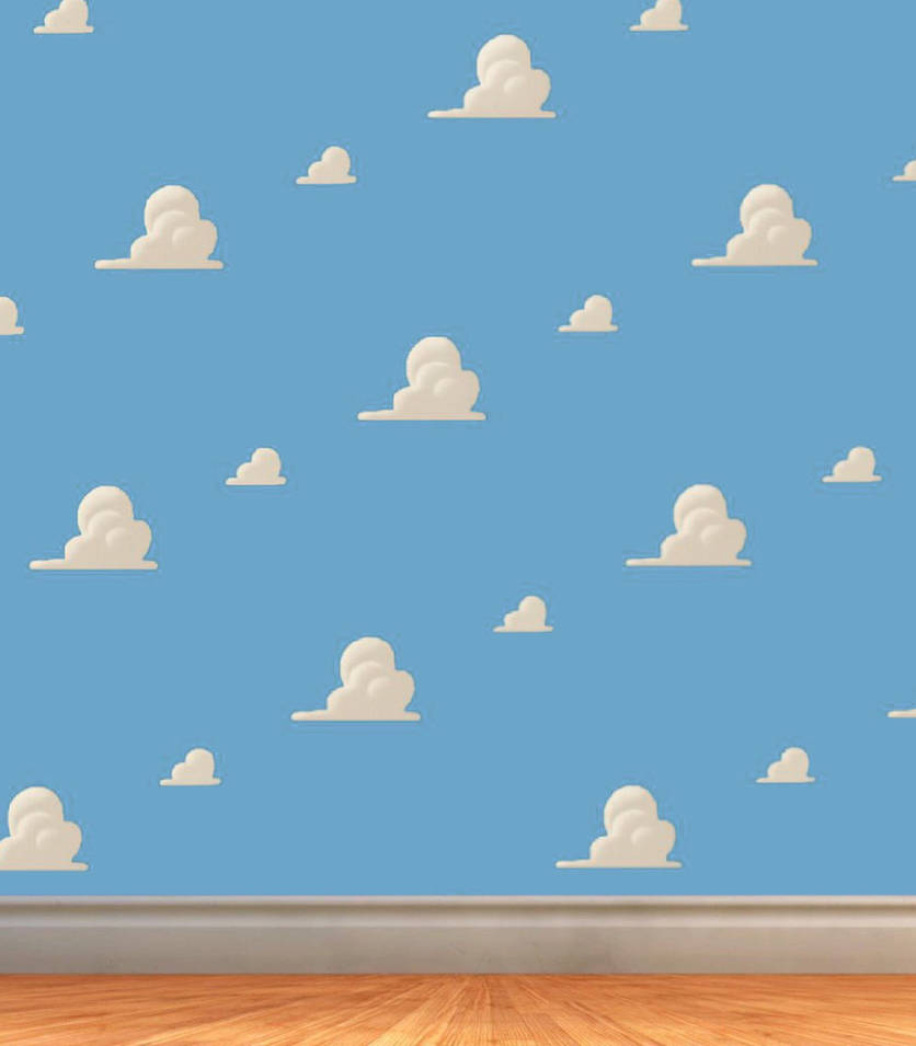 Toy Story Cloud Wallpaper Background By Luxojr888 On Deviantart