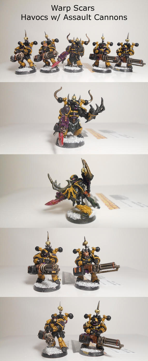 Warp Scars - Havocs with Assault Cannons by EmperorBassexe