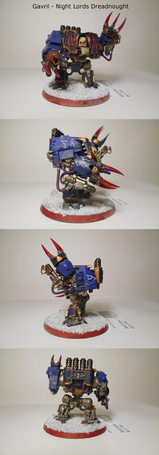 Gavril - Night Lords Dreadnought by EmperorBassexe