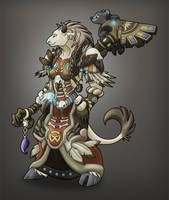 Tauren Druid by PheraRow