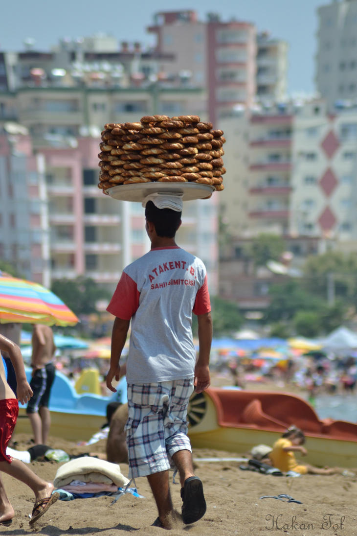 Balance with Turkish Bagel by WorldsInWorld