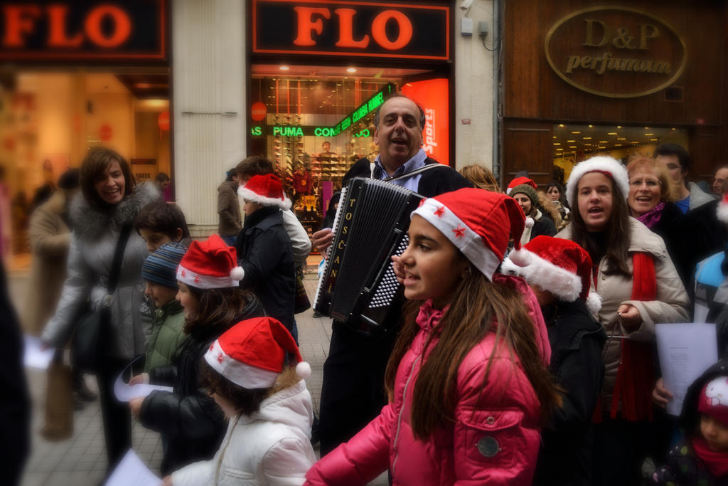 Greeks Christmas Celebration by WorldsInWorld
