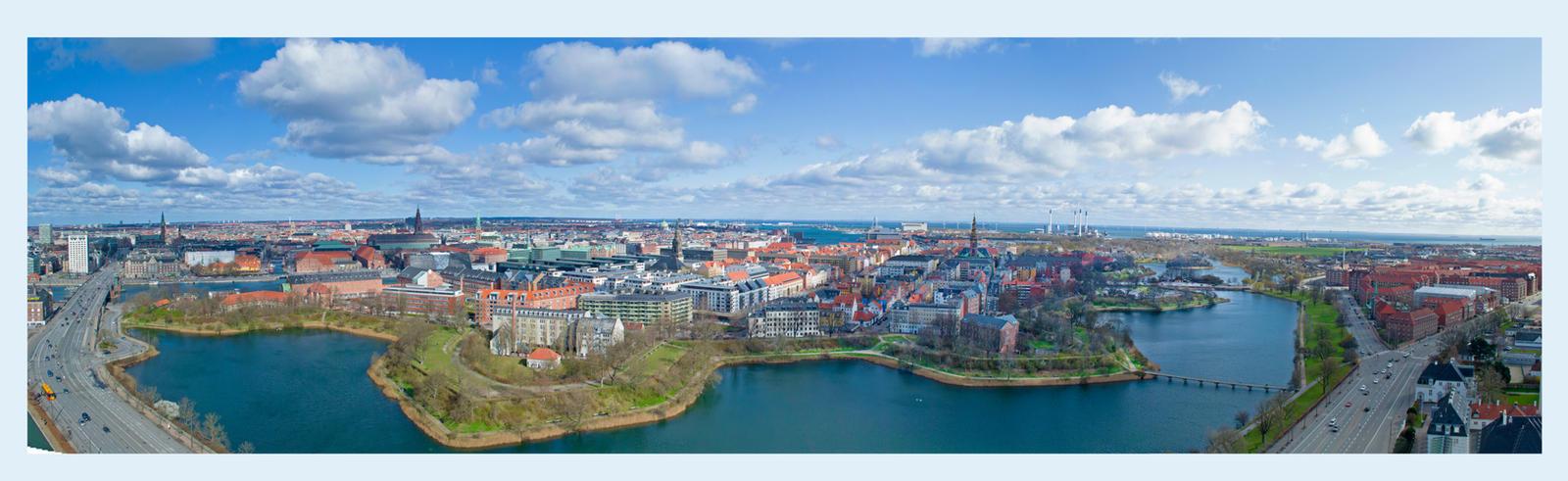 Copenhagen - Panorama by WorldsInWorld