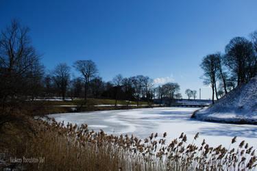 Frozen Lake of Kastellet by WorldsInWorld