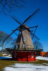 Windmill at Kastellet by WorldsInWorld