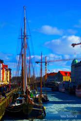 Nyhavn with Tilt-Shift