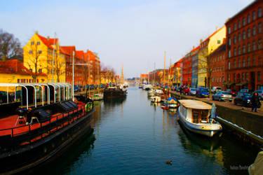 Christianshavn Canals (Tilt-Shift Effect)