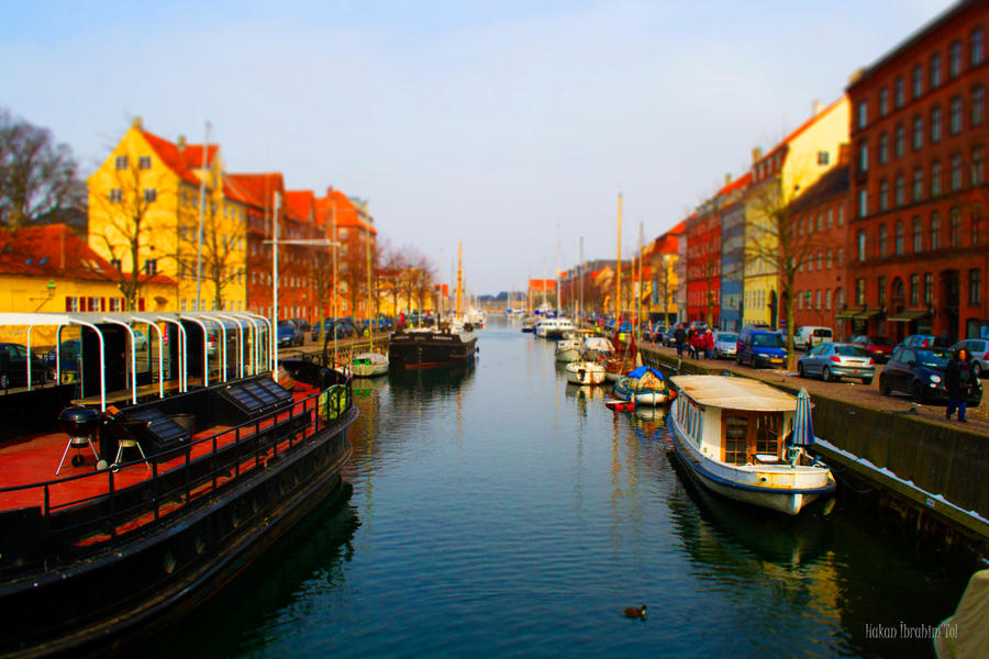 Christianshavn Canals (Tilt-Shift Effect) by WorldsInWorld