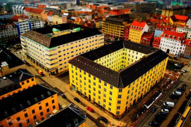 Copenhagen Above - Tilt Shift