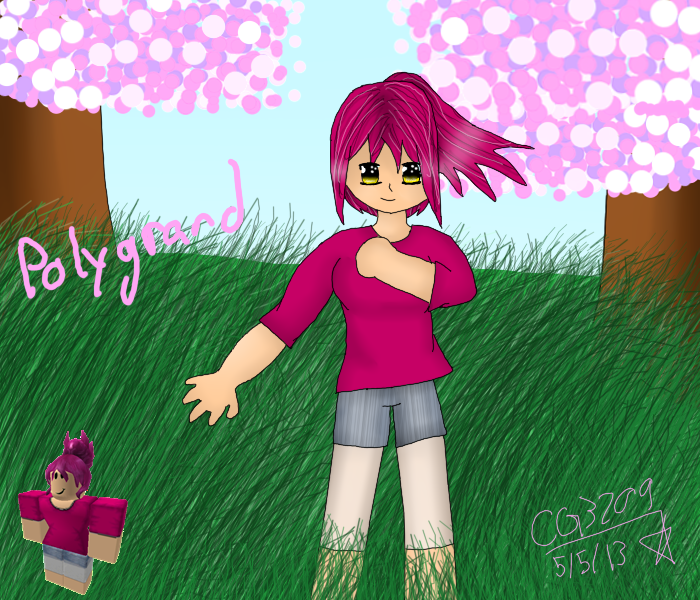 Polygrand Roblox Commission By Hikari The Elite On Deviantart - style roblox background