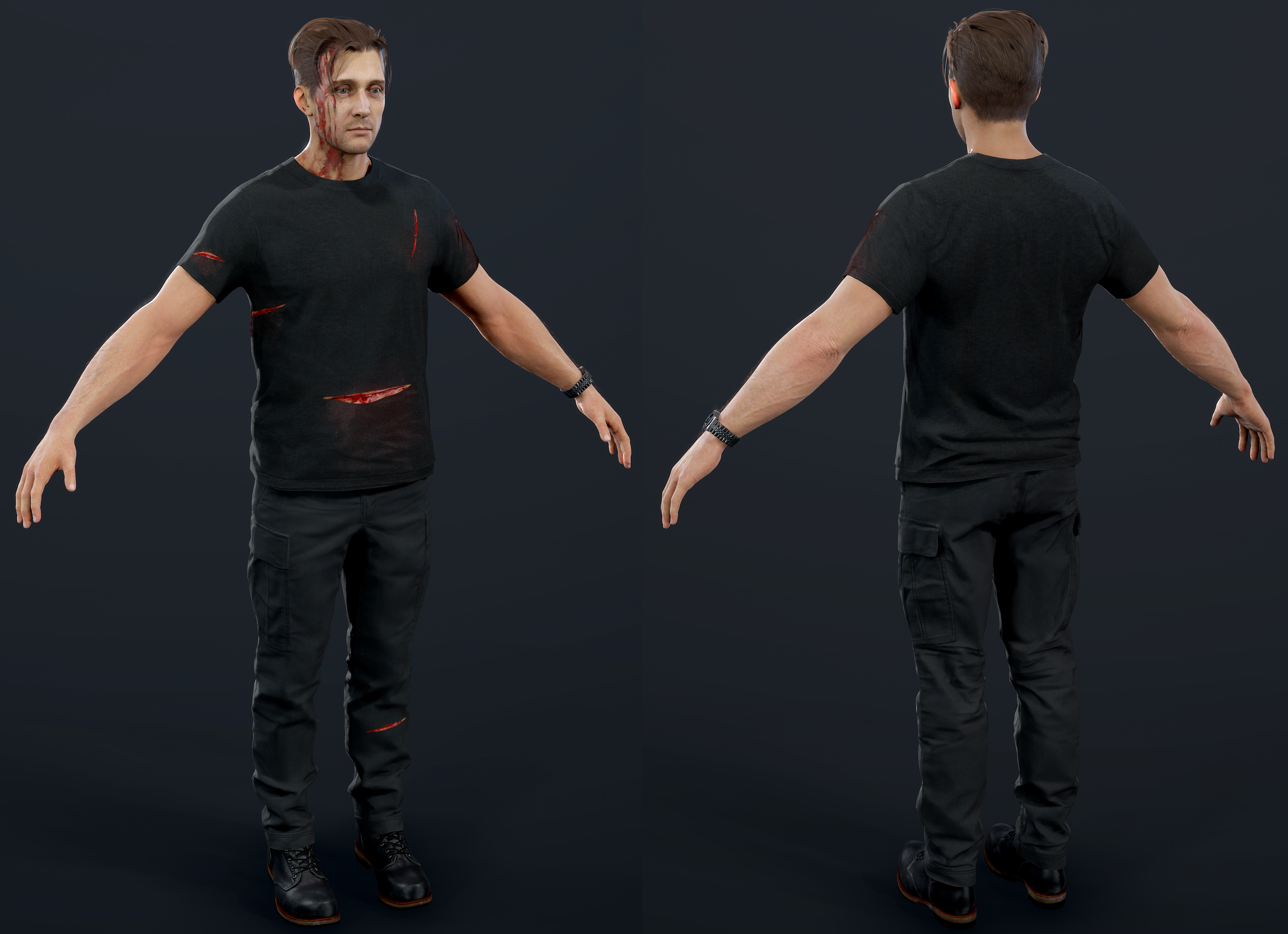 Uncharted 4 Crazy Rafe By Luxox005 On Deviantart