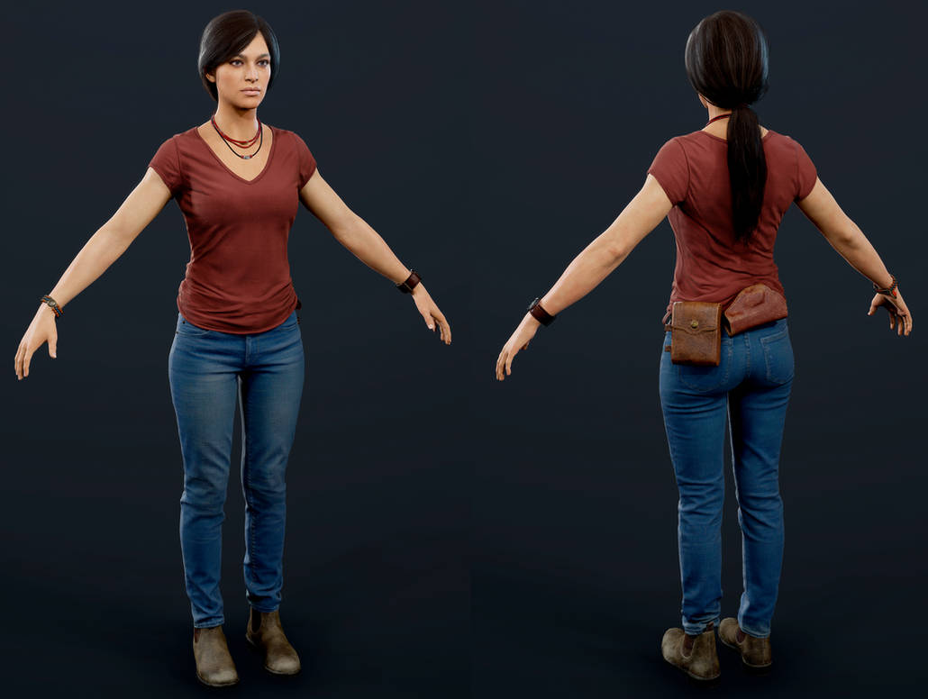 Uncharted The Lost Legacy Chloe By Luxox005 On Deviantart