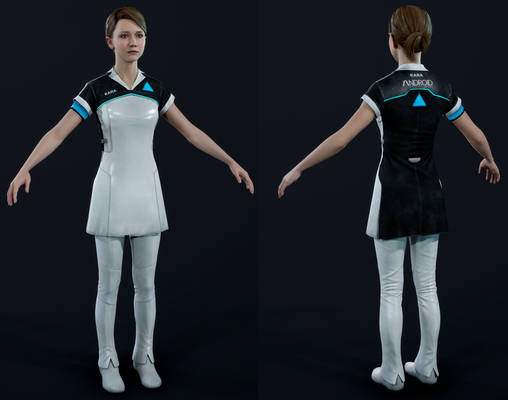 Detroit: Become Human - Kara Uniform