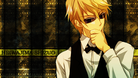 AT: PSP WP - Heiwajima Shizuo by hiiragi-the-tempest