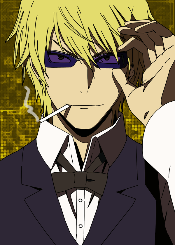 Anime Characters Smoking : Collab heiwajima shizuo by hiiragi the tempest on deviantart