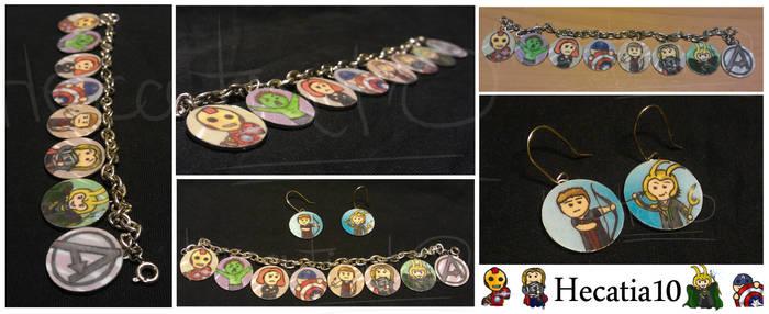 Avengers Jewellery Assembled...!
