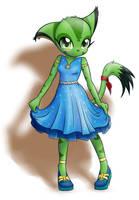 Carol in a dress by JT-Metalli