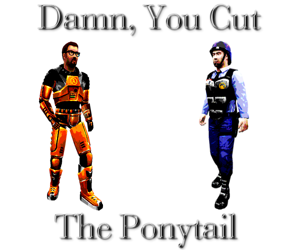 Damn You Cut The Ponytail By Gordoneli On Deviantart